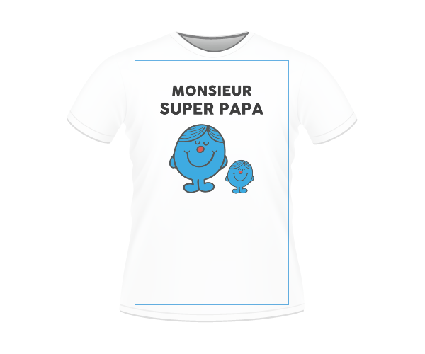 T-SHIRT MONSIEUR SUPER PAPA