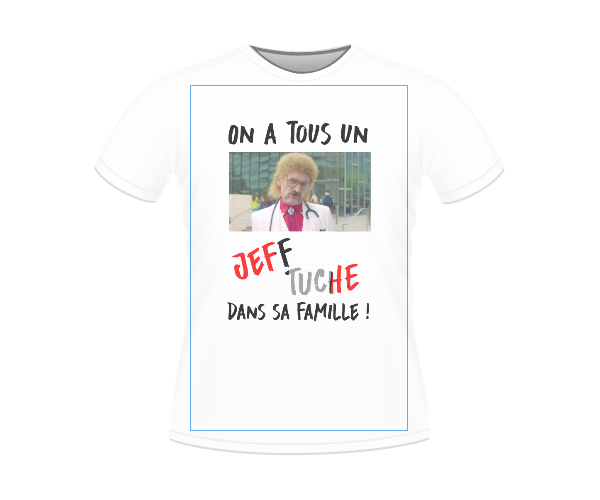 T-SHIRT JEFF FAMILY